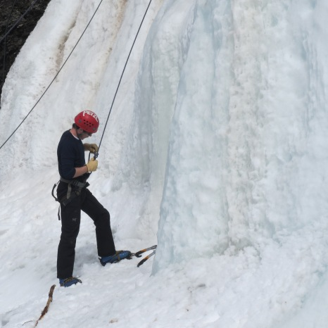 Aspen, Colorado - Ice Climbing.
