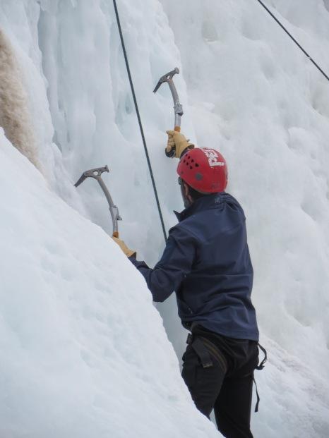 Aspen, Colorado - Ice Climbing.