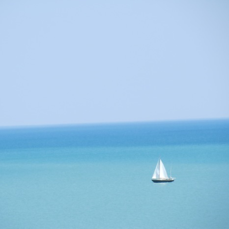 Lake Michigan - Chicago, Illinois.