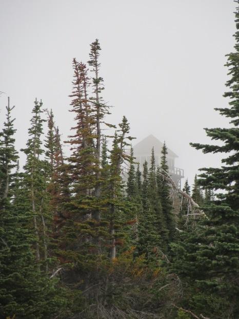 Glacier National Park, Montana - Mount Brown Lookout.