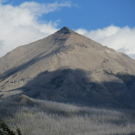 Glacier National Park, Montana - Mahtapi Peak.