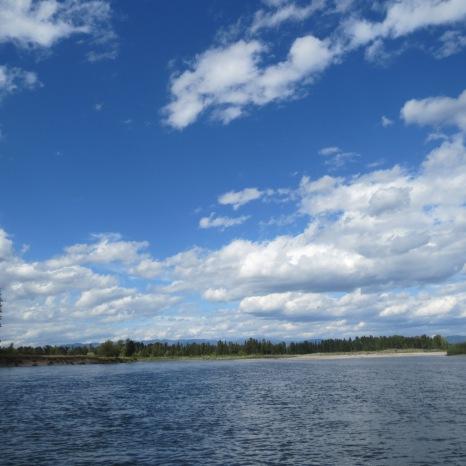 Flathead River, Montana.