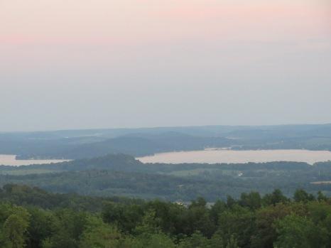 Baraboo, Wisconsin - View of Lake Wisconsin