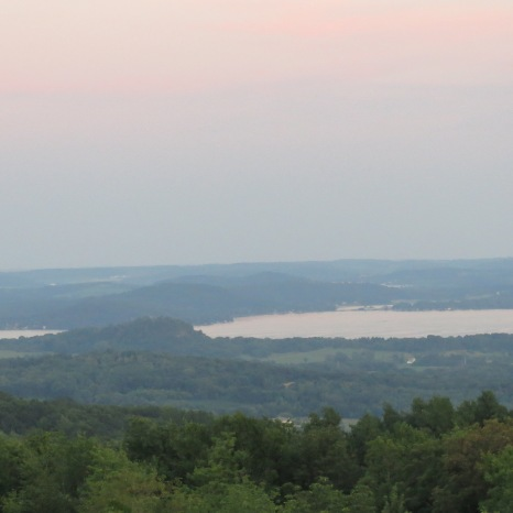 Baraboo, Wisconsin - View of Lake Wisconsin
