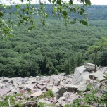 Devil's Lake State Park, Wisconsin - View of Boulder Field