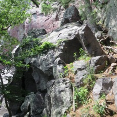 Devil's Lake State Park, Wisconsin - Path to the Climbing Area