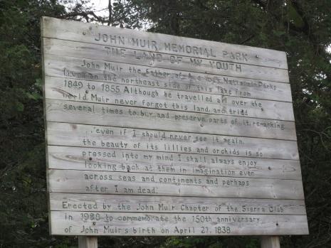 John Muir Memorial Park, Wisconsin.